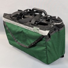 Brompton Basket in Black and Forest Green