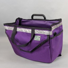 Brompton basket in Purple (frame and brace not included)