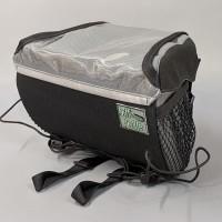 Handlebar Bag, Black and Gray