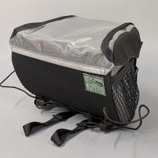 Handlebar Bag, Black and Gray