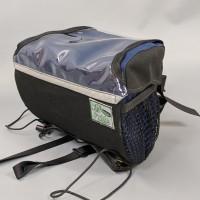 Handlebar Bag, Black and Navy