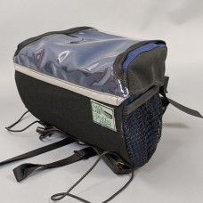 Handlebar Bag, Black and Navy