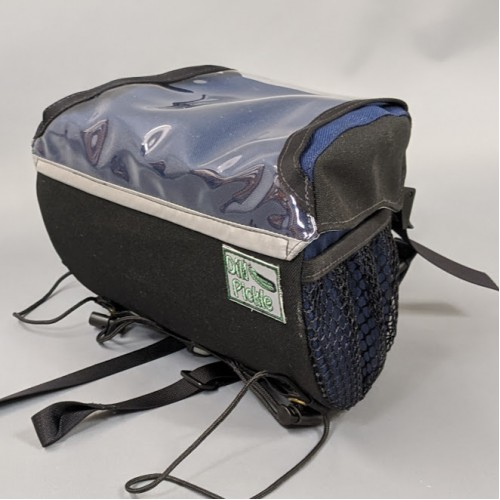 In Stock - Handlebar Bag, Black and Navy