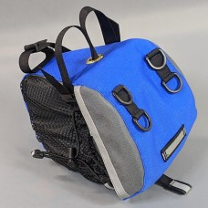 Small Saddlebag, Gray and Super Blue