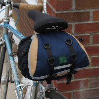Design Your Own Medium Saddlebag, tapered style