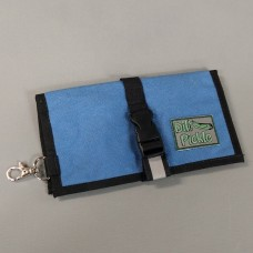 Wallet in Stormy Blue with Stormy and White interior