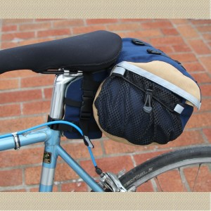 Medium Saddlebag With Cannister Side