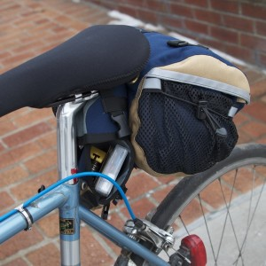 Medium Saddlebag with Open Cannister