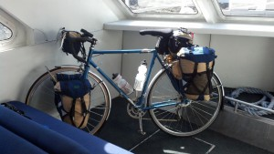 bike on ferry 2014